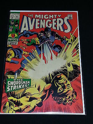 Avengers #65 - Marvel Comics - June 1969 - 1st Print