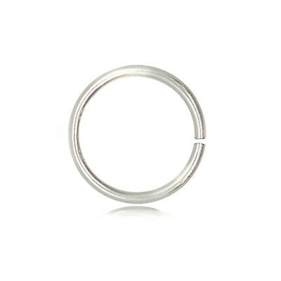 Open Jump Ring 925 Sterling Silver Diameter 6-8-10-12-14-16mm Thickness 1.5mm