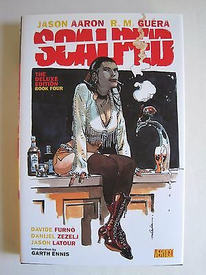 Scalped Book Four (Deluxe Edition) by Aaron and Guera (hbk)