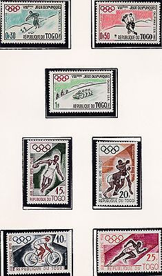 Togo     1960  17Th Olympic Games   Mnh
