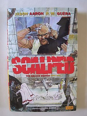Scalped Book Five (Deluxe Edition) by Aaron and Guera (hbk)