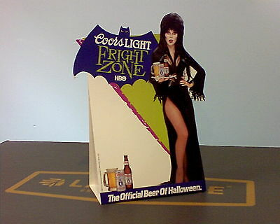 Elvira Coors Halloween Advertising Store Display