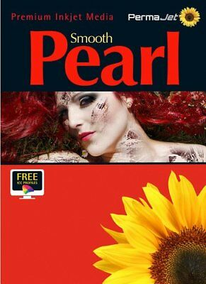 Permajet Smooth Pearl Photo Paper 280g 7x 5 Pack 100