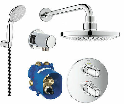 grohe rapido t grohtherm 1000 unterputz thermostat. Black Bedroom Furniture Sets. Home Design Ideas