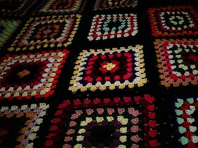 "King/queen Size Crochet Blanket New 110"" Long 90""  Wide Many Colors"