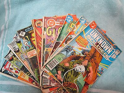 1970's & 80's Comic Books, Dc And Marvel, Lot Of 11 Total, Low Grade Readers