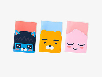KAKAO FRIENDS Character Clear Passport Case Cover ID Card Holder NEO RYAN APEACH