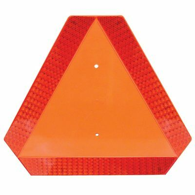 NEW Warning Alert Slow Moving Vehicle Reflective Triangle Deflect Golf Cart Car