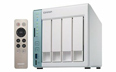 QNAP Turbo TS-451A - Dispositivo de almacenamiento en red NAS (Intel Celeron N3