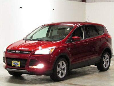 2014 Ford Escape SE 4WD Ecoboost 2014 Ford Escape SE 4WD Ecoboost 27588 Miles Ruby Red Tinted Clearcoat Sport Uti