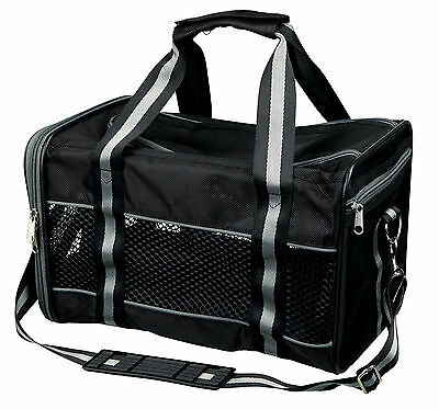 Trixie Mick Dog Cat Puppy Carrier can be opened at the front & top up to: 9 kg