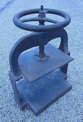 Antique Cast Iron Book Press - LOCAL PICK-UP ONLY