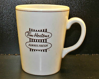 Tim Hortons Traditional / Vintage Bilingual Coffee Mug - Made In England