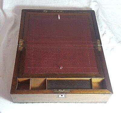 Beautiful Antique Wooden Writing Slope