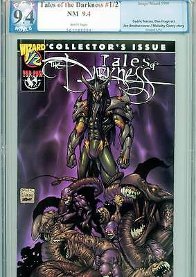 Tales of the Darkness #1/2, 9.4 NM, PGX Graded, Top Cow Productions, Inc., 1999