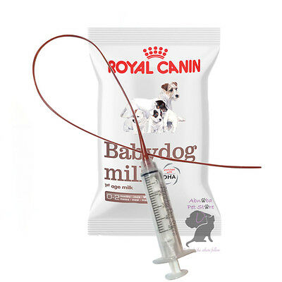 3.5F Sterile Feeding Tube Syringe Whelping Puppy Cleft Royal Canin Babydog Milk