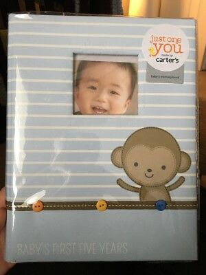 New - Carter's: Baby's First Five Years Memory Book