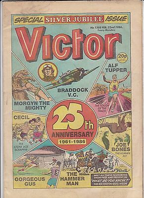 VICTOR Comic - Special Silver Jubilee Issue - No 1305 Feb 22nd 1986