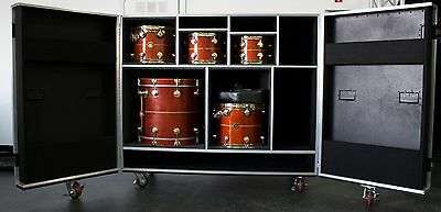Percussion Heavy Duty Road Case! Custom To Your Equipment! Made In USA!