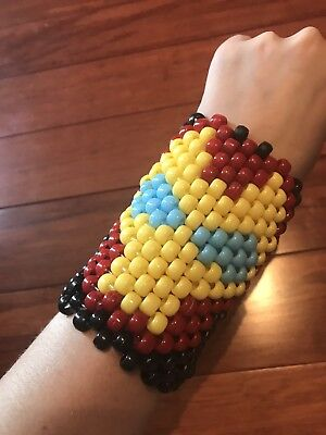 Marvel Iron Man Kandi/Cuff for EDM Festivals / Raves