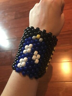 Doctor Who TARDIS Kandi Cuff for EDM Festivals & Raves