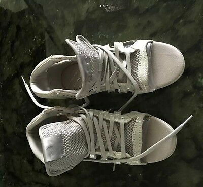 adidas leather basket sneakers sz 37-37.5  Bought in Spain