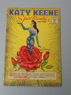 Katy Keene Spectacular First Issue #1 1.0 FR 1955 Last Pre-Code