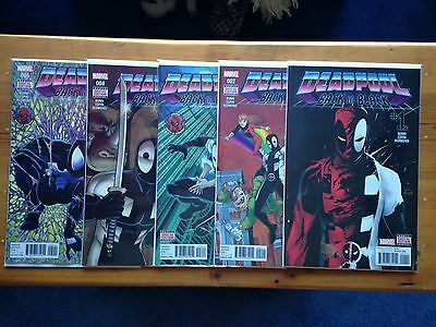 Deadpool Back In Black #1-5 Set ** Marvel Comics ** Hot Buy **