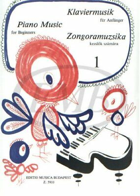 Piano Music For Beginners 1 (Collectif) | Edition Musicale Budapest