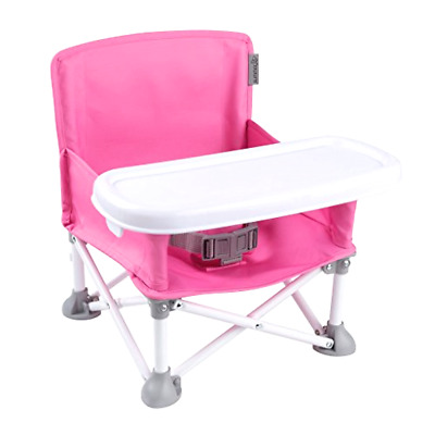 Summer Infant Pop N' Sit Portable Child Booster Seat Tray Folding Chair Straps