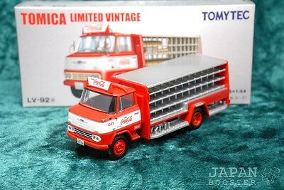 [TOMICA LIMITED VINTAGE LV-92a 1/64] NISSAN 3.5t TRUCK Coca-Cola