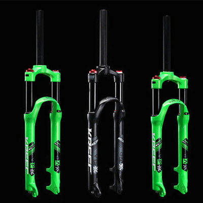 MTB Bicycle Bike Front Fork Light Air Suspension Forks for 26'' 27.5'' Cycling
