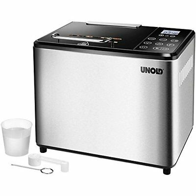 Unold BACKMEISTER Compact Plus 545W - Panificadora (545 W, Acero inoxidable, Pl