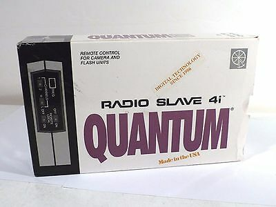 """Quantum Instruments Radio Slave 4i Remote ONLY with """"D"""" Frequency"""