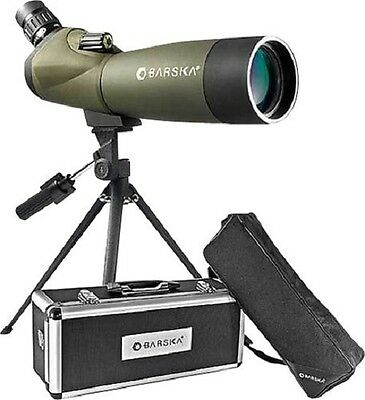 NEW Barska Angled MC Green Lens w/Tripod 20-60x60 WP Blackhawk Spotting Scope