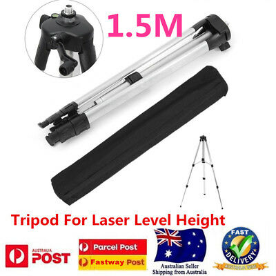 1.5M Aluminum Tripod Adjustable Stand For Laser Level Measuring Dumpy Levelling
