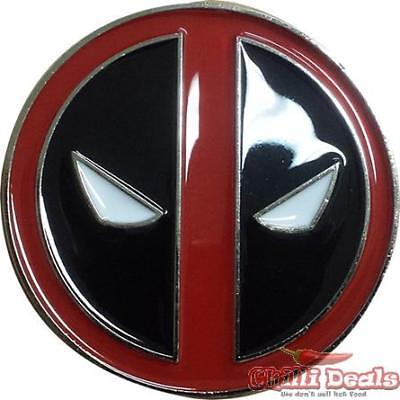 Marvel Comics - Deadpool LOGO diecast Metal Belt buckle
