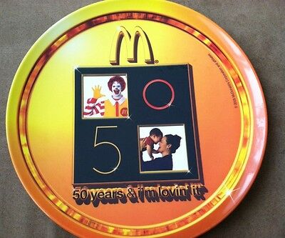 SUNCOAST  50 years & I'm lovin' it McDonald's Collector Plate 2005
