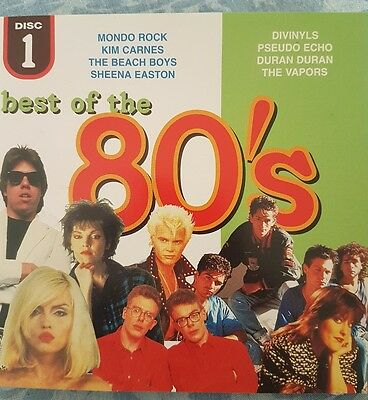 Best of the 80's Disc 1 and Disc 2