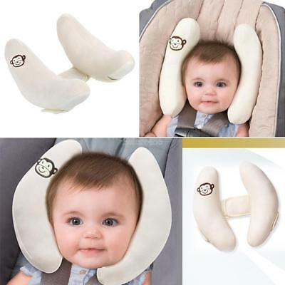 Unisex Baby Travel Sleeping Car Seat Headrest Head Neck Support Pillow E456
