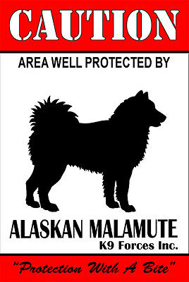 Protected By Afghan Hound K9 Forces Inc 8x12 Inch Aluminum Sign