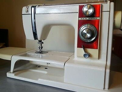janome new home sewing machine instructions