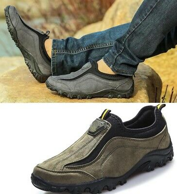 Men's Running Shoes Slip On Outdoor Sports Trekking Hiking Shoes Sneakers best
