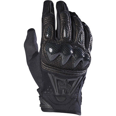 Fox Racing NEW Mx 2018 Bomber Black Black Motocross Dirt Bike Protection Gloves