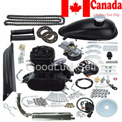2-Stroke 80cc MOTOR ENGINE KIT GAS FOR MOTORIZED BICYCLE CYCLE BIKE NEW CANADA!