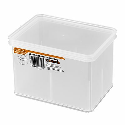 Tactix 163 x 118 x 112mm Small Deep Storage Container