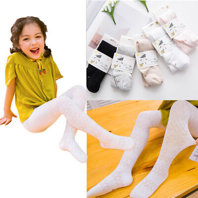 Baby Kids Girls Tights Bottom Trousers Stockings Socks Tights Pantyhose US Stock