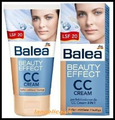 Balea CC Cream Foundation Color & Control for Perfect Skin Beauty Effect 50ml