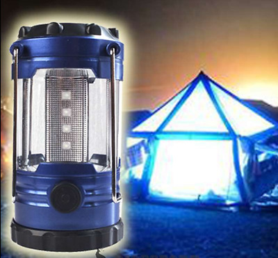 2 x  12 LED Portable Camping Torch Lantern Battery Operated Night Light Tent AU