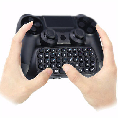 Mini Bluetooth Wireless Keyboard Chatpad Keypad For PS4 Game Controller